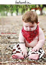 Featured in Tot Trends Weekly Magazine - Cowboy and Cowgirl Issue - April 2006