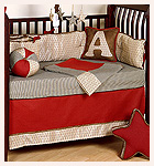 Adam's All American 4 Piece Cowboy Nursery Crib Set