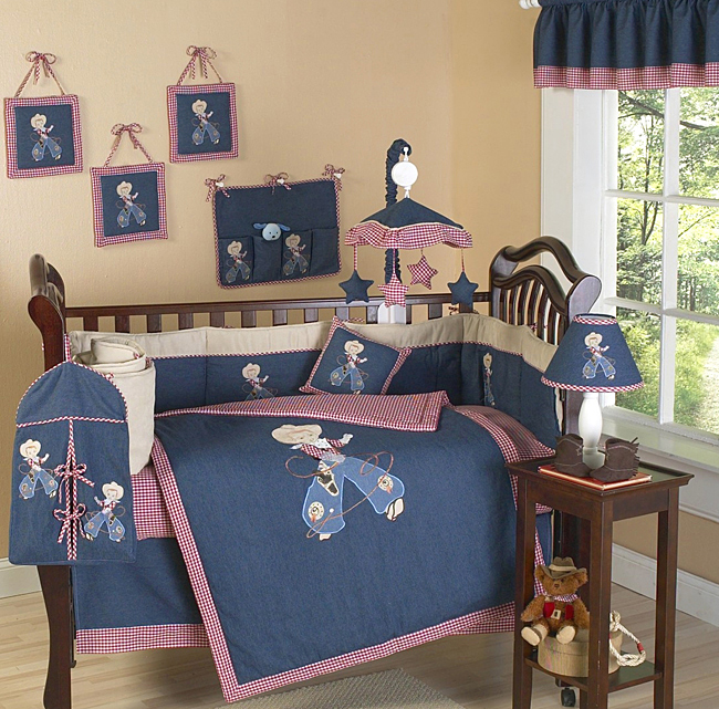 Cool Blue And Brown Crib Bedding Ideas Modern Blue And