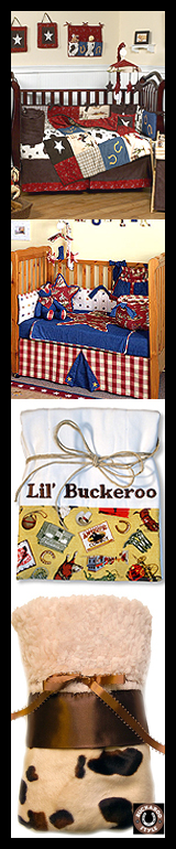 Cowboy Baby Gear - Bibs, Blankies, Crib Bedding, and More!